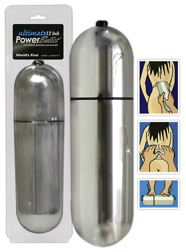 Power Bullet - 30 cm silver