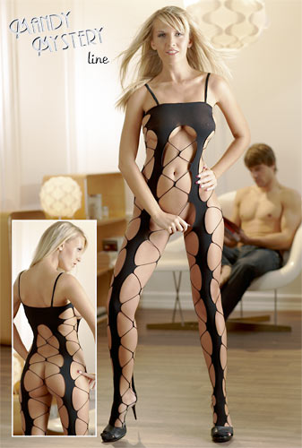 Crotchless Catsuit S-L