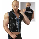 Trendy latex hemdshirt