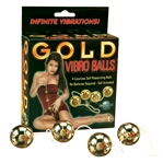 Gold Vibro Balls